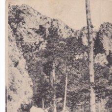 Postales: BARCELONA, BERGA QUERALT PAISSATGE DEL CASTELL. ED. A.T.V. ANGEL TOLDRA VIAZO Nº 13. SIN CIRCULAR. Lote 296686163