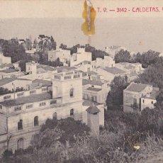 Postales: BARCELONA, CALDETAS VISTA GENERAL. ED. A.T.V. ANGEL TOLDRA VIAZO Nº 3142. CIRCULADA EN 1910. Lote 296693828