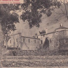 Postales: TARRAGONA, ESPLUGA DE FRANCOLÍ SANTUARIO DE LA TRINIDAD. ED. FOTO ROISIN Nº 2. CIRCULADA EN 1925. Lote 296696258