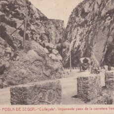 Postales: LLEIDA, POBLA DE SEGUR COLLEGATS CARRETERA ARGENTERIA. ED. FOTOTIPIA THOMAS Nº 19. SIN CIRCULAR. Lote 296701073