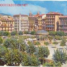 Postales: PAMPLONA - PLAZA DEL CASTILLO. Lote 23677963