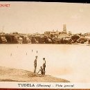 Postales: ANTIGUA POSTAL DE TUDELA (NAVARRA) - VISTA GENERAL -ARXIV MAS. Lote 507397