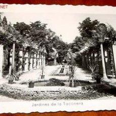 Postales: ANTIGUA FOTO POSTAL DE PAMPLONA - JARDINES DE LA TACONERA - ARRIBAS. Lote 693586