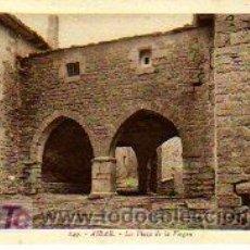 Postales: TARJETA POSTAL DE AIBAR ,LA PLAZA DE LA VIRGEN. Lote 3302445