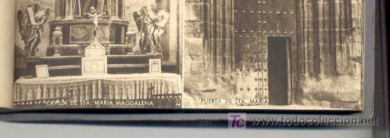 Postales: 15 POSTALES ANTIGUAS, DE VIANA (NAVARRA).EN UN BLOC. EN VARIAS DE ELLAS SE VEN PERSONAS. COLOR SEPIA - Foto 5 - 27575900