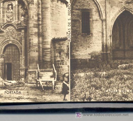 Postales: 15 POSTALES ANTIGUAS, DE VIANA (NAVARRA).EN UN BLOC. EN VARIAS DE ELLAS SE VEN PERSONAS. COLOR SEPIA - Foto 9 - 27575900