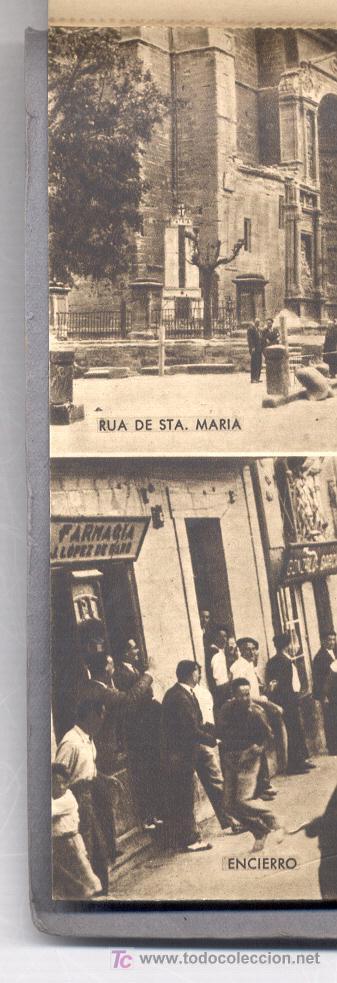 Postales: 15 POSTALES ANTIGUAS, DE VIANA (NAVARRA).EN UN BLOC. EN VARIAS DE ELLAS SE VEN PERSONAS. COLOR SEPIA - Foto 14 - 27575900