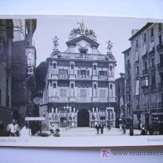 Cartes Postales: PAMPLONA. AYUNTAMIENTO DE PAMPLONA. Lote 4257515