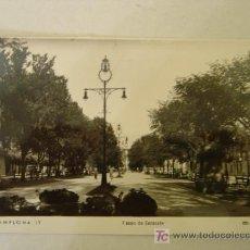 Postales: PAMPLONA 12 PASEO DE SARASATE.ED. ARRIBAS.. Lote 11383979