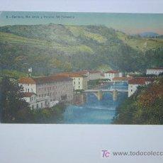 Postales: CESTONA, RIO UROLA Y HOSTALES DEL BARNEARIO. Lote 27414492