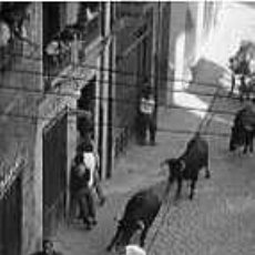 Postales: POSTAL DE PAMPLONA, ENCIERRO. Lote 5059674