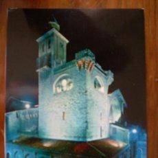 Postales: PAMPLONA. IGLESIA DE SAN NICOLÁS (NOCHE). Lote 5967634