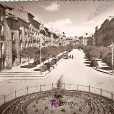 Postales: POSTAL TUDELA PASEO DE LAS HERRERIAS. Lote 6016607