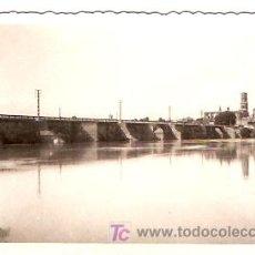 Postales: POSTAL TUDELA RIO EBRO. Lote 6016627