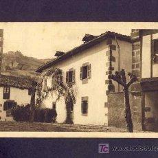 Postales: POSTAL DE ECHALAR (NAVARRA): CASA CURAL (A.OLLEA NUM.320). Lote 6167166