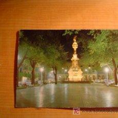 Postales: POSTAL PAMPLONA MONUMENTO DE LOS FUEROS CIRCULADA. Lote 17691834