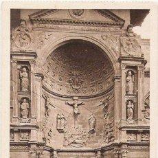 Postales: 98. VIANA - PUERTA PRINCIPAL DE LA IGLESIA DE SANTA MARIA, PANTEON DE CESAR BORGIA. L. ROISIN, FOT.. Lote 22010428