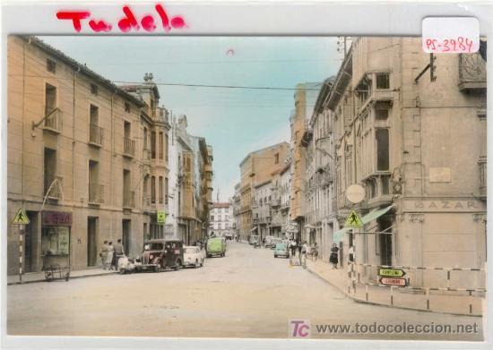 (PS-3984)POSTAL DE NAVARRA-CALLE GAZTAMBIDE (Postales - España - Navarra Moderna (desde 1.940))