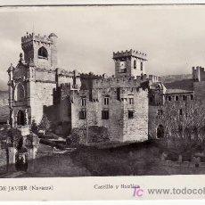 Postales: CASTILLO DE JAVIER. NAVARRA. CIRCULADA.. Lote 26464008