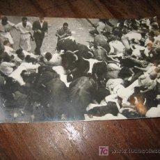 Postales: PAMPLONA ENCIERRO DE LOS TOROS . Lote 7424402