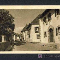 Postales: POSTAL DE BURGUETE (NAVARRA): CASA TIPICA DEL PAIS (HUEC.ARTE). Lote 7888291