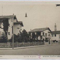 Postales: POSTAL DE PAMPLONA CALLE ARALAR NAVARRA. Lote 12427596