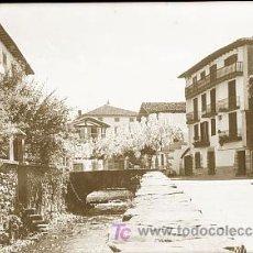 Cartes Postales: CLICHE ORIGINAL - LESACA (NAVARRA), NEGATIVO EN CELULOIDE - EDICIONES ARRIBAS. Lote 9367602