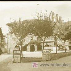Cartes Postales: CLICHE ORIGINAL - LESACA (NAVARRA), NEGATIVO EN CELULOIDE - EDICIONES ARRIBAS. Lote 9367604