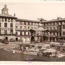 Postales: POSTAL TUDELA PLAZA DE LOS FUEROS . Lote 9437445