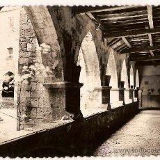 Postales: ANTIGUA POSTAL Nº 9 RONCESVALLES CLAUSTRO CIRCULADA 1960. Lote 9662009