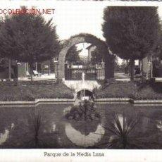 Postales: TARJETA POSTAL DE PAMPLONA Nº43. PARQUE DE LA MEDIA LUNA.. Lote 2097910