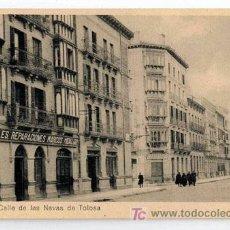 Postales: TARJETA POSTAL PAMPLONA (NAVARRA). 10 CALLE DE LAS NAVAS DE TOLOSA. Lote 7191240