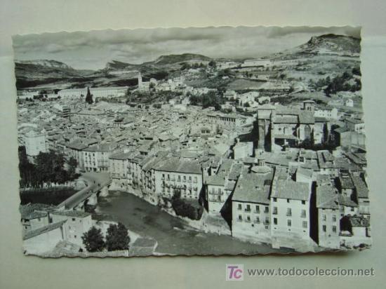 POSTAL ESTELLA.- VISTA PARCIAL (Postales - España - Navarra Moderna (desde 1.940))