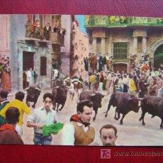 Postales: PAMPLONA - ENCIERRO. Lote 10507114