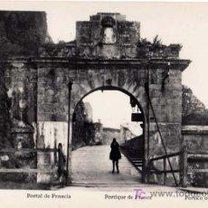 Postales: TARJETA POSTAL DE PAMPLONA (NAVARRA) - PORTAL DE FRANCIA. Lote 25642009
