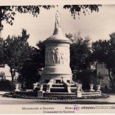 Postales: TARJETA POSTAL DE PAMPLONA (NAVARRA) - MONUMENTO A GAYARRE. Lote 25642010