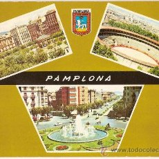 Postales: POSTAL A COLOR PAMPLONA ED CUSCO ESCRITA. Lote 10572495