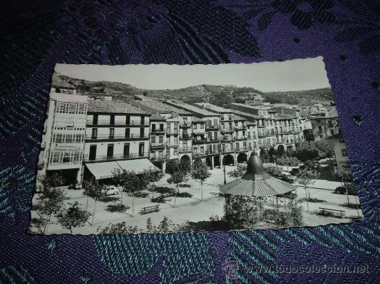 ESTELLA PLAZA DE LOS FUEROS,ED IMPRENTA GARBAYO (Postales - España - Navarra Moderna (desde 1.940))