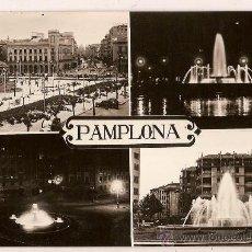 Postales: ANTIGUA POSTAL Nº 4-11 PAMPLONA FOTO RUPEREZ POSTALES VAQUERO CIRCULADA 1960. Lote 11044902