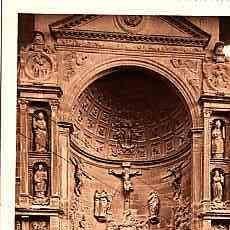 Postales: POSTAL DE VIANA NAVARRA Nº 98 PUERTA PRINCIPAL DE LA IGLESIA DE SANTA MARIA . Lote 11154748