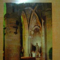 Cartes Postales: POSTAL SANGÜESA IGLESIA DE SANTIAGO VISTA PARCIAL DE LA NAVE MERIDIONAL J (S. XIII ) SIN CIRCULAR . Lote 11648234