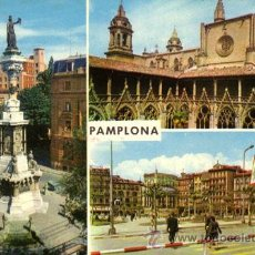 Postales: Nº 2592 POSTAL PAMPLONA NAVARRA. Lote 11880042