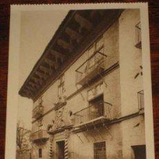Postales: ANTIGUA POSTAL DE SANGÜESA - NAVARRA - CALLE DE LOS MARQUESES DE VALLE SANTORO - ED. L. ROISIN - NO. Lote 11977254