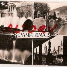 Postales: ANTIGUA POSTAL Nº 4-8 PAMPLONA POSTALES VAQUERO. Lote 11993034