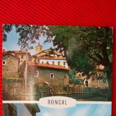 Postales: NAVARRA - RONCAL. Lote 12001164