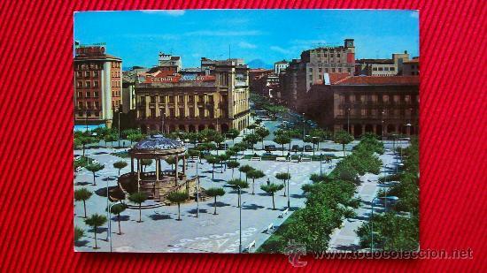 PAMPLONA - PLAZA DEL CASTILLO (Postales - España - Navarra Moderna (desde 1.940))