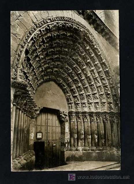 TUTERA - TUDELA. *CATEDRAL. PUERTA DEL JUICIO* EDC. PARIS J.M. Nº 15. NUEVA (Postales - España - Navarra Moderna (desde 1.940))