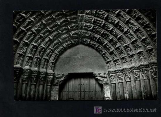 TUTERA - TUDELA. *CATEDRAL. PUERTA DEL JUICIO* EDC. PARIS J.M. Nº 1. NUEVA (Postales - España - Navarra Moderna (desde 1.940))
