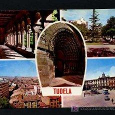 Postales: TUTERA - TUDELA. *TUDELA* EDC. PARIS J.M. Nº 100. CIRCULADA 1968. Lote 12187688