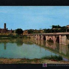 Postales: TUTERA - TUDELA. *PUENTE ROMANICO...* EDC. PARIS J.M. Nº 142. CIRCULADA 1967. Lote 12187882